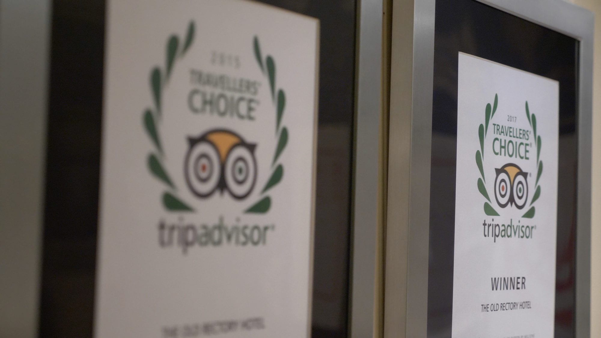 travellers choice trip advisor award